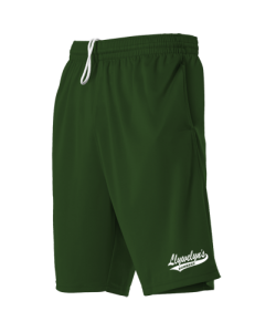 Alleson 5069PKT Pocketed Short Dark Green